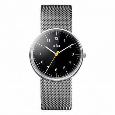 Braun 0021 black steel