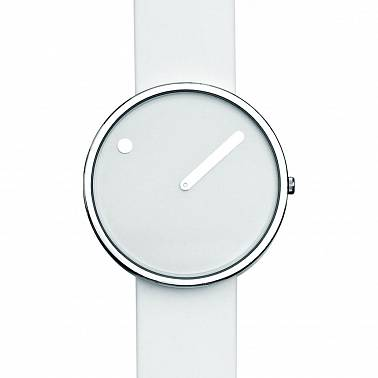 Picto 40 mm White / Steel