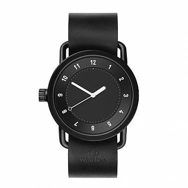 TID No.1 Black leather