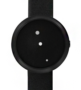 Ora Lattea nero 42 mm