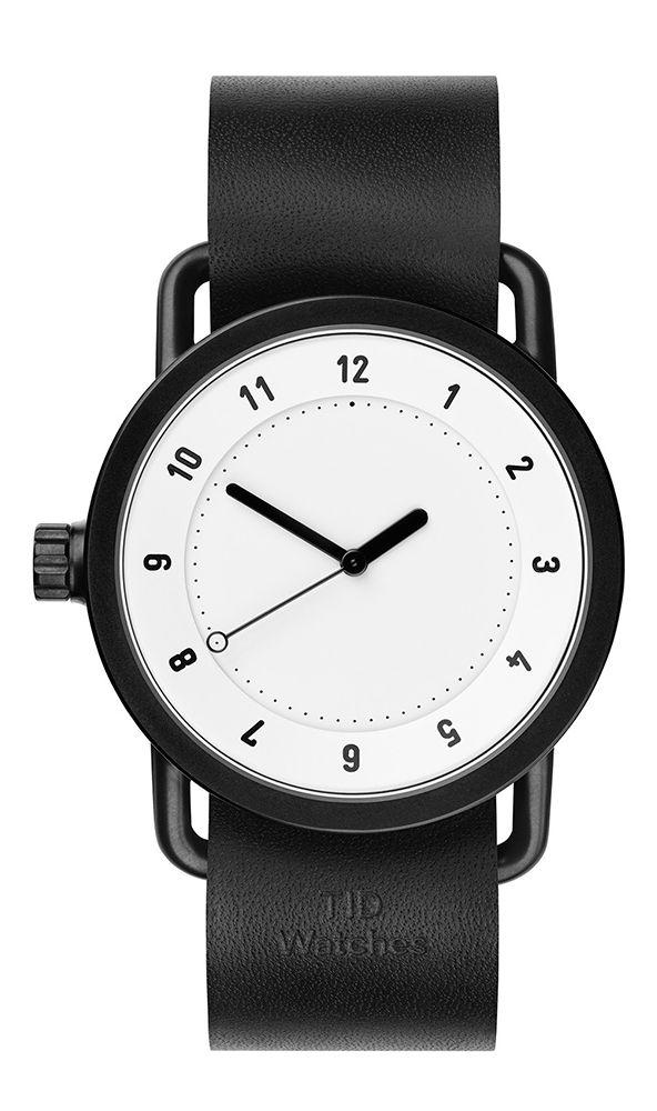 TID No.1 White Black Leather