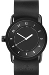 No.1 Black Leather 36 mm