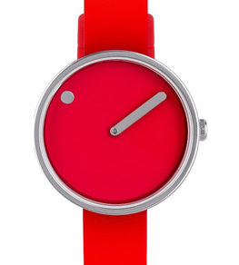 Picto 30 mm Red / Steel