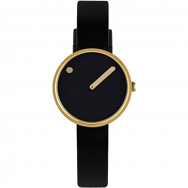 Picto 30 mm Black / Gold